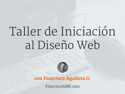 Taller de iniciación al diseño web